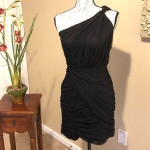 ARMANI/EXCHANGE Black Chiffon Evening Dress Size 4